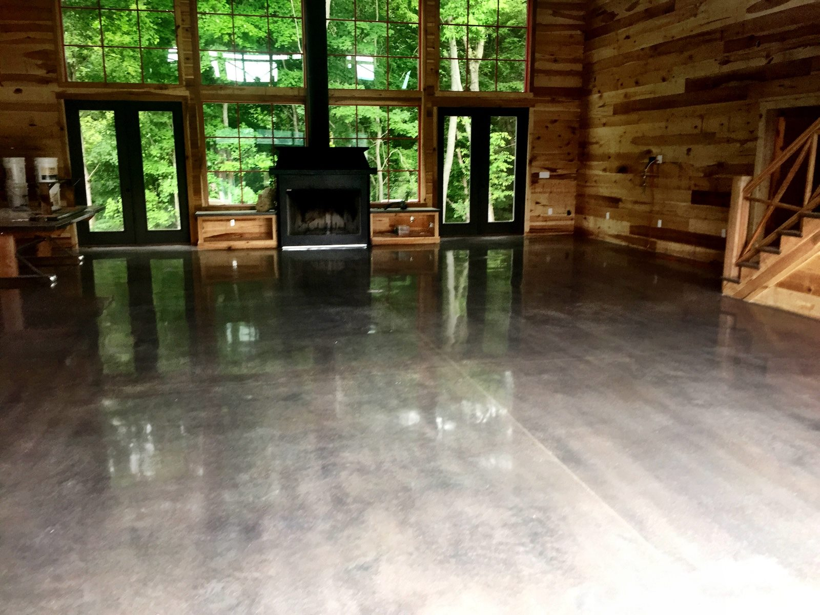 Living Space, Springfield, TN - Natural Concrete/No Color added